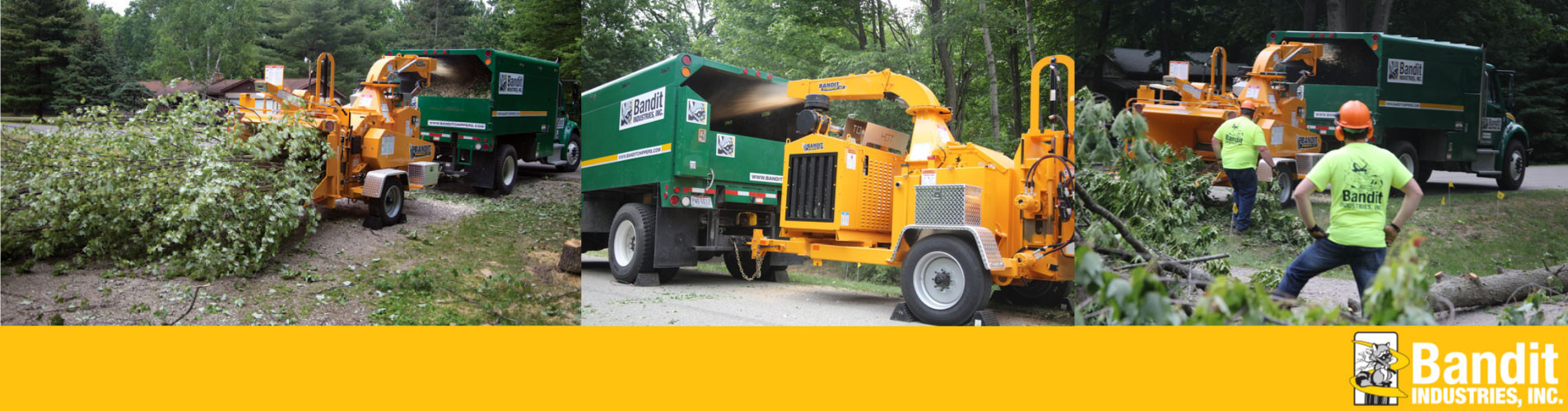 Large Equipment from Bandit for Rent or Sale | Iron Source DE