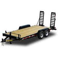 equipment rentals - trailers