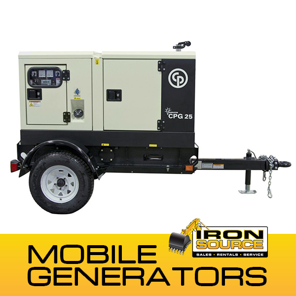 Chicago Pneumatic Mobile Generators