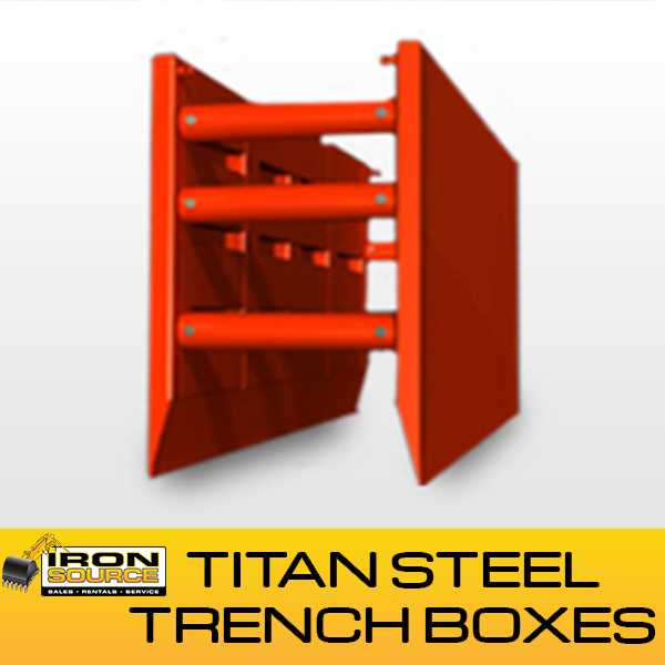 Kundel Titan Steel Trench Boxes