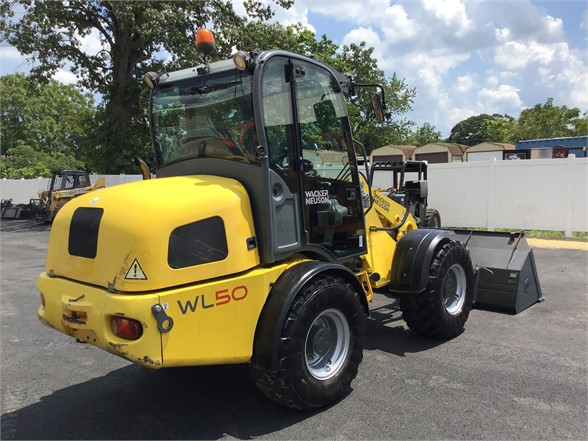 used construction equipment - WACKER NEUSON WL50