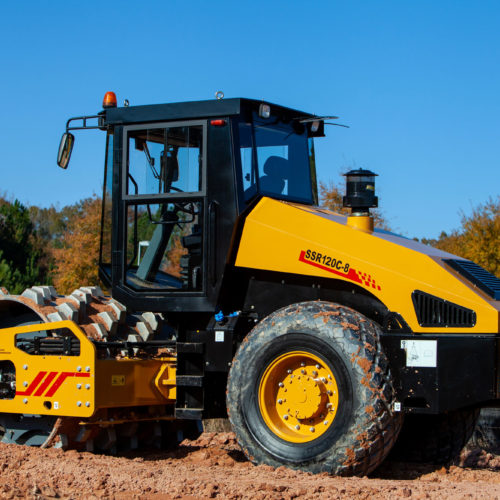 SANY SSR120C-8 Compaction Roller from Iron Source in Delaware