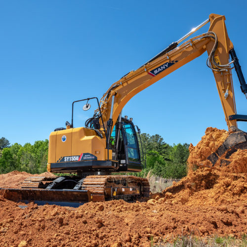 SANY SY155U Excavator from Iron Source in Delaware