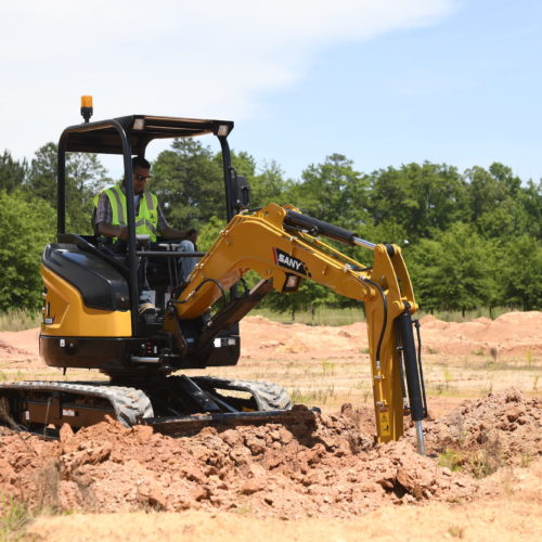 SANY SY26U Excavator from Iron Source in Delaware