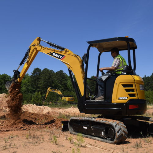SANY SY35U Excavator from Iron Source in Delaware