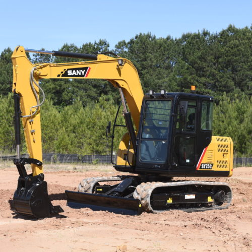 SANY SY75C Excavator from Iron Source in Delaware