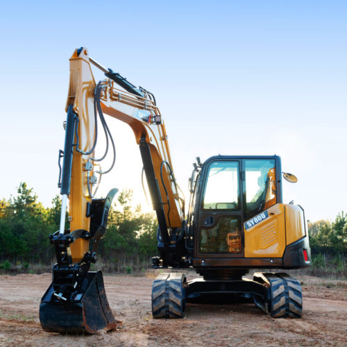 SANY SY80U Excavator from Iron Source in Delaware