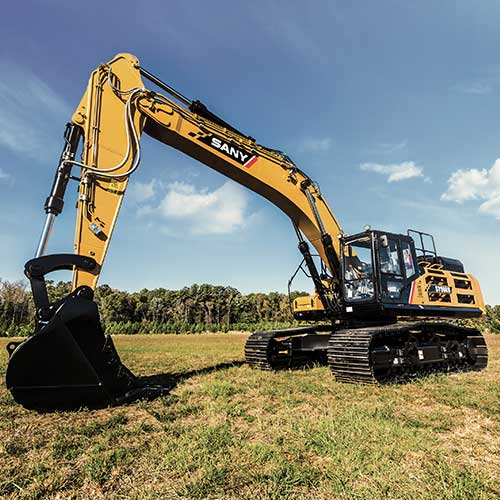 SANY SY500H Excavator from Iron Source in Delaware