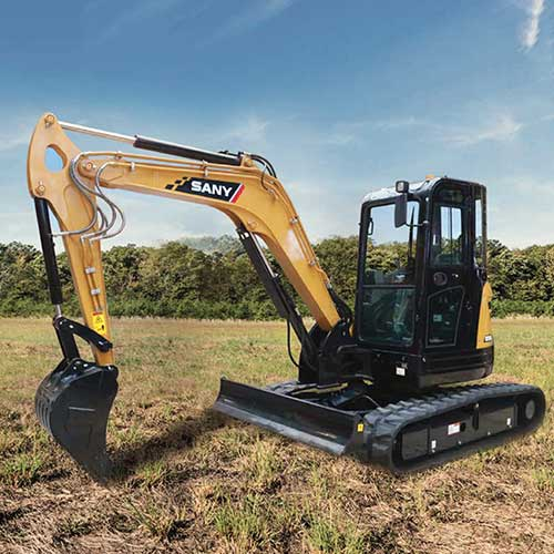 SANY SY50U Excavator from Iron Source in Delaware