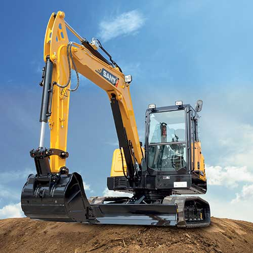 SANY SY60C Excavator from Iron Source in Delaware
