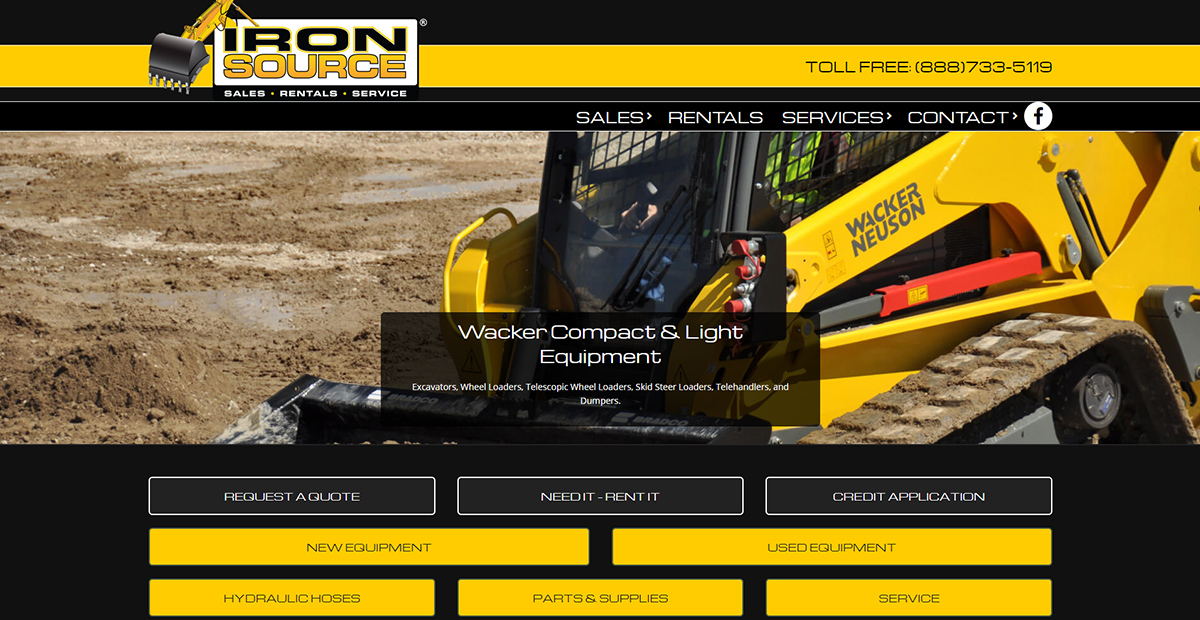 Hydraulic Hoses & Assemblies Services in Delaware | Iron